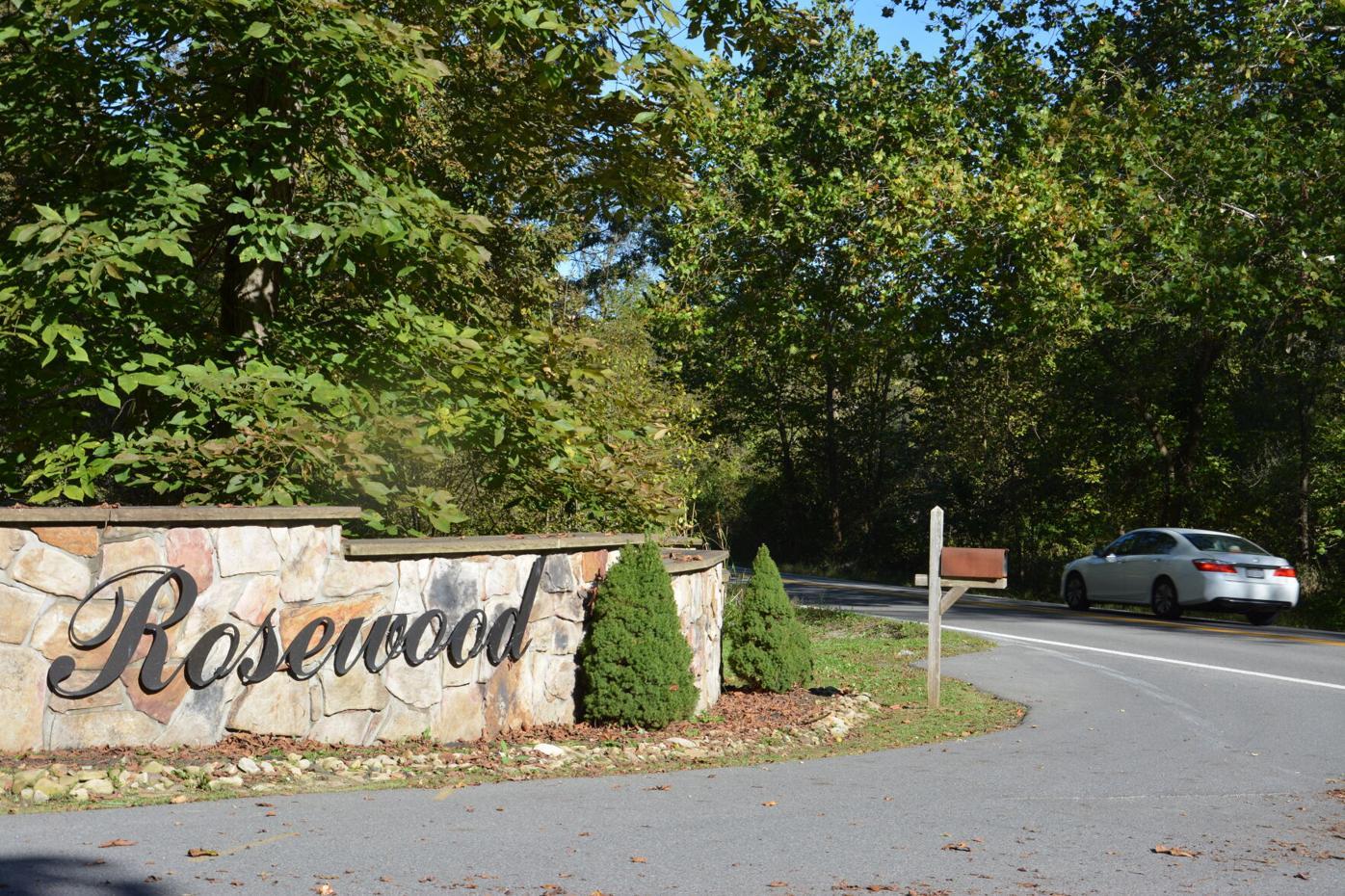 Rosewood entrance
