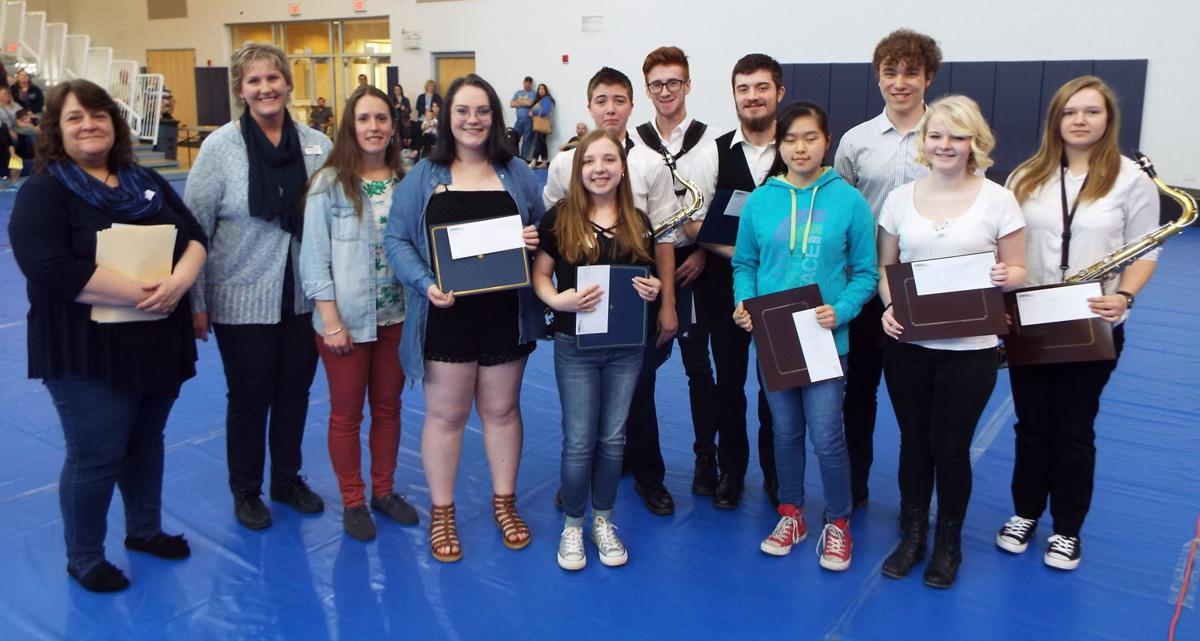 GC Arts Council honors seniors
