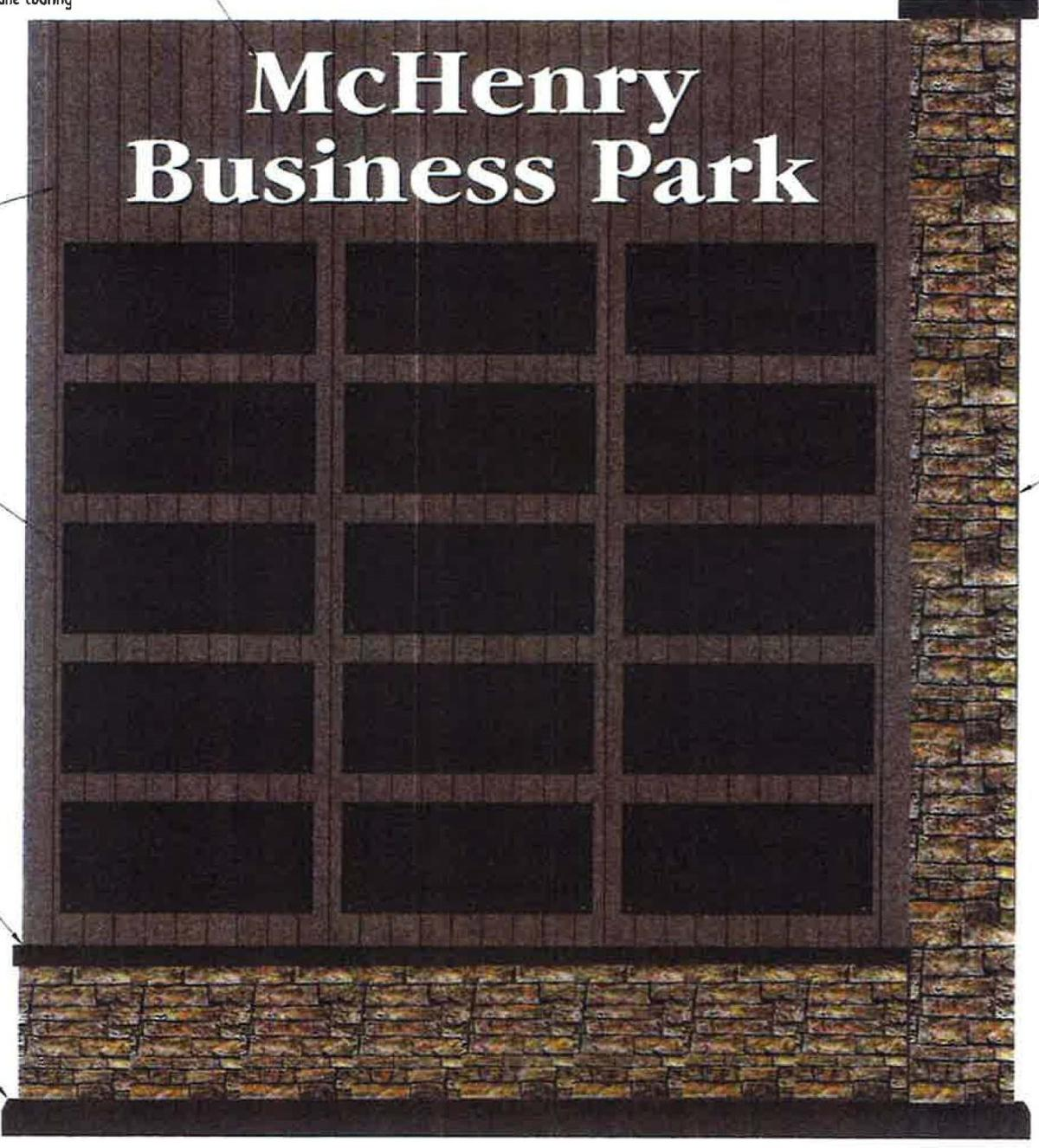McHenry Business Park sign
