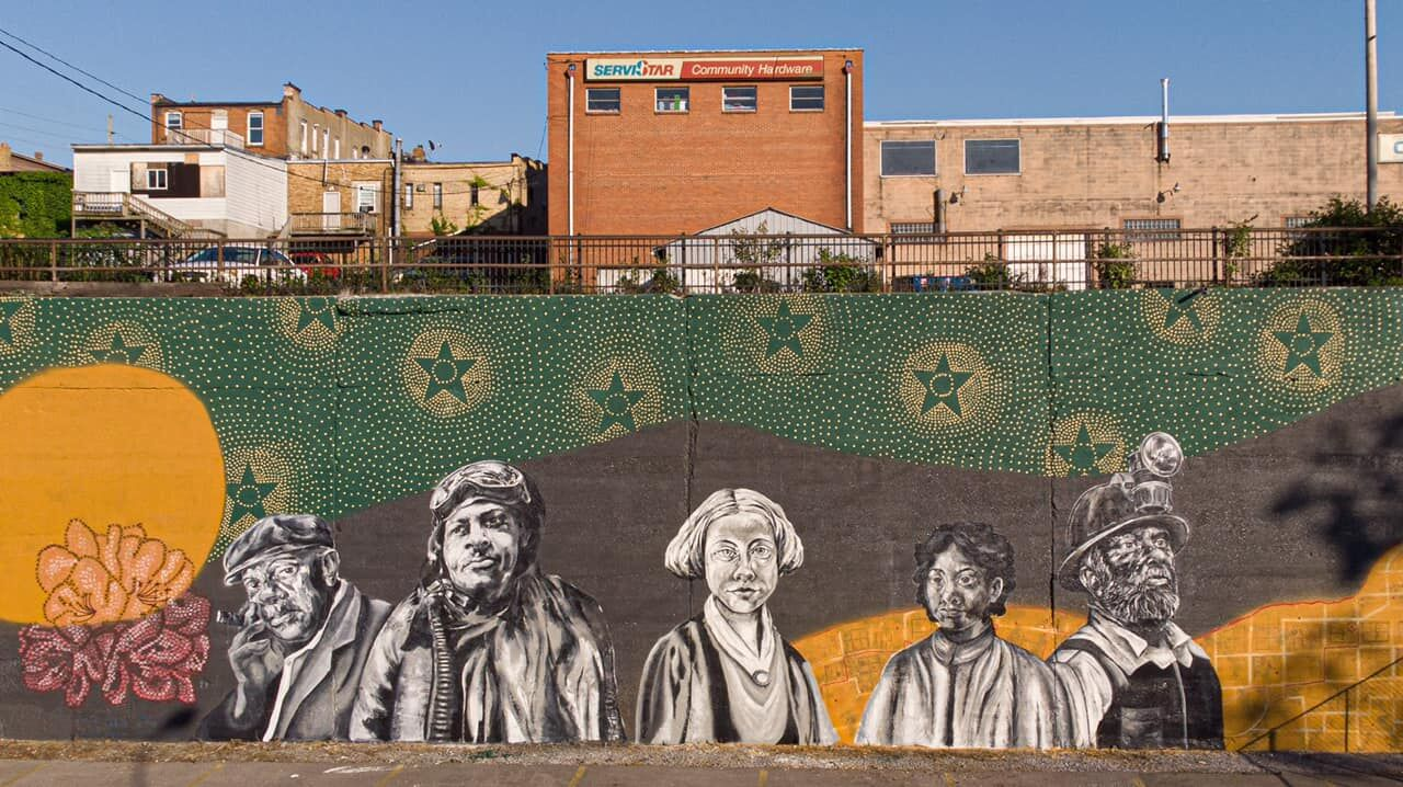 Full Palatine Park mural