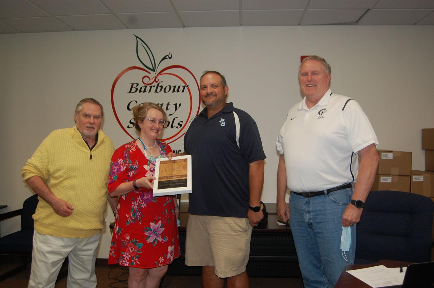 Iapaluccis receive Directors Award