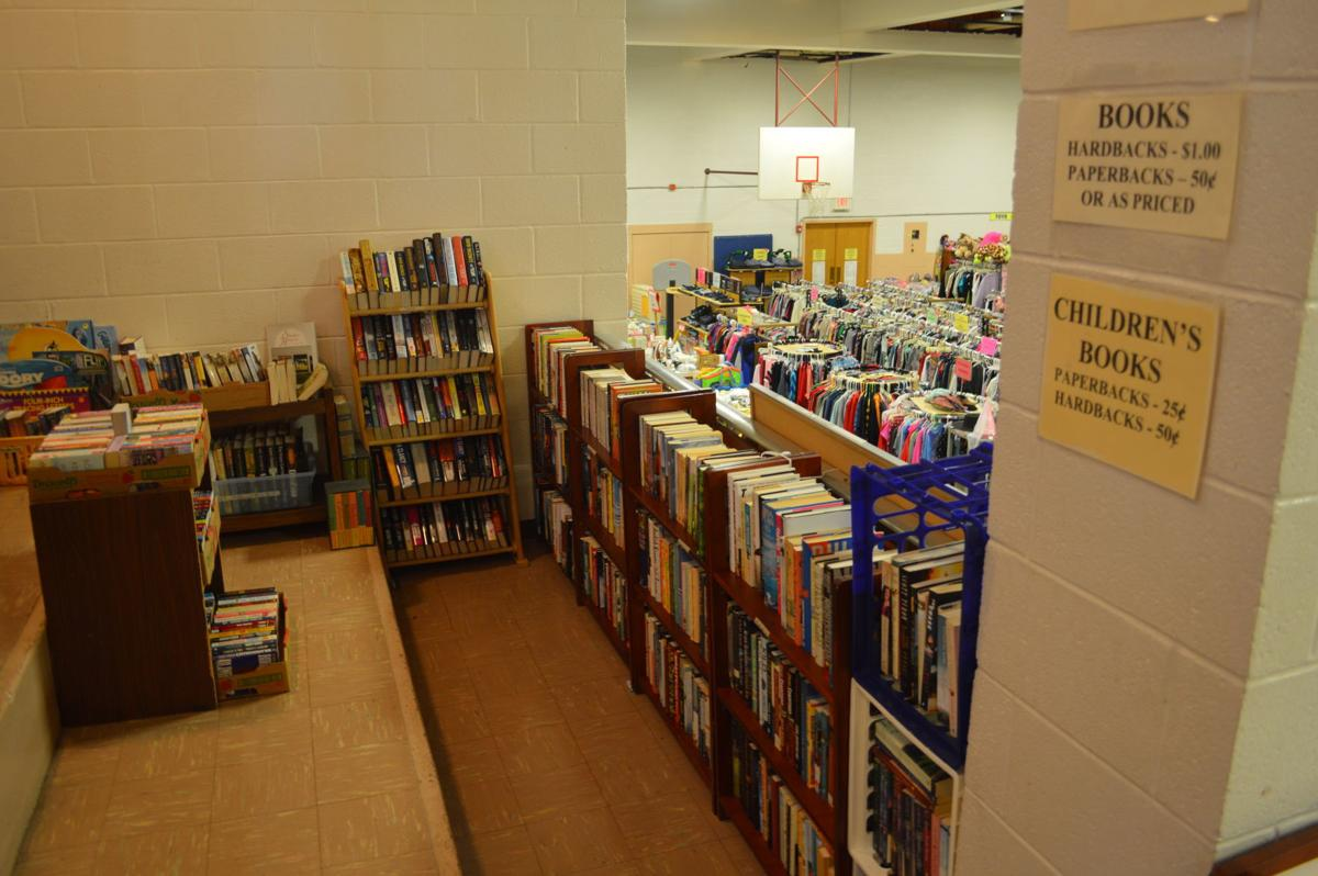 Whale of a Sale library