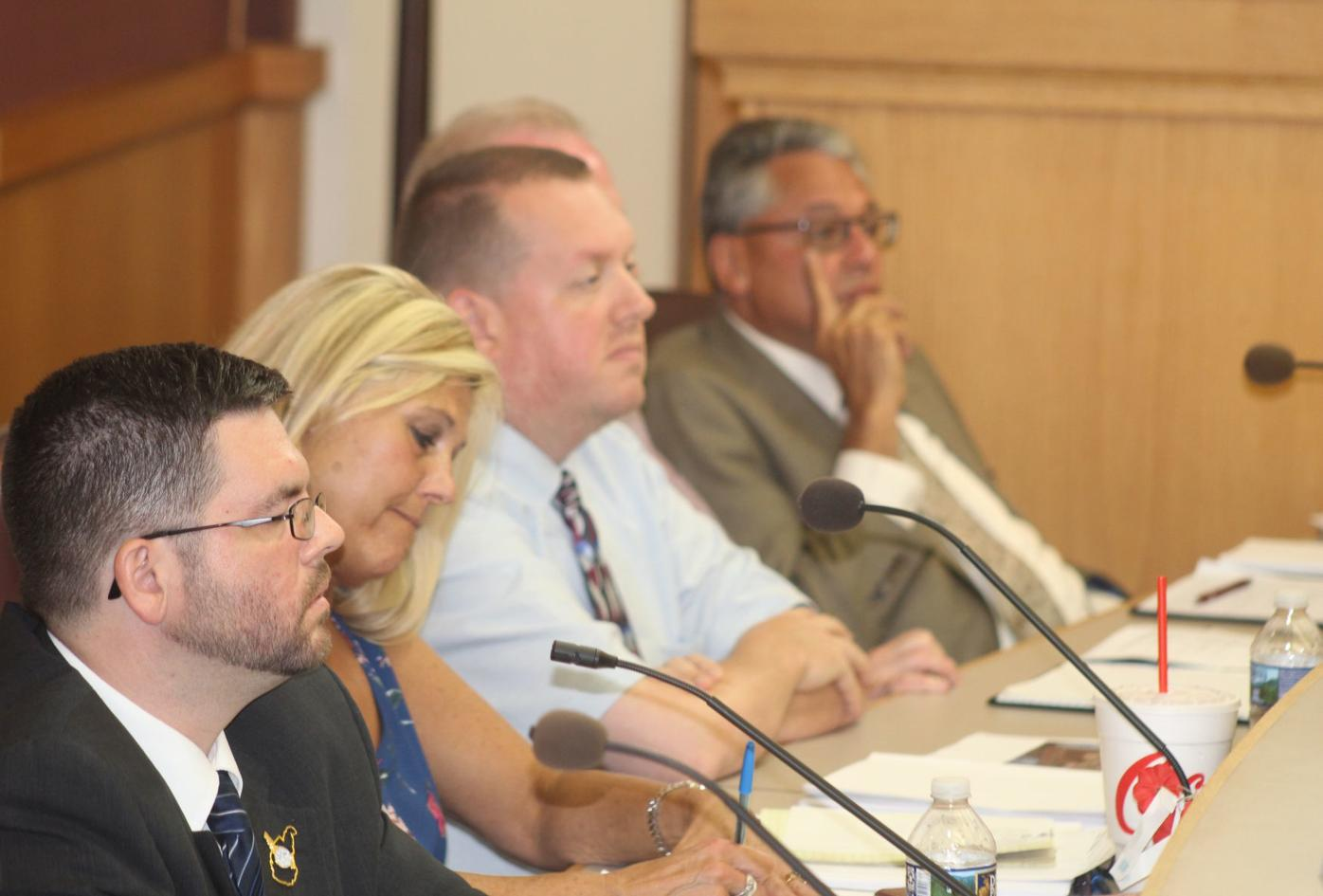 Council members listening