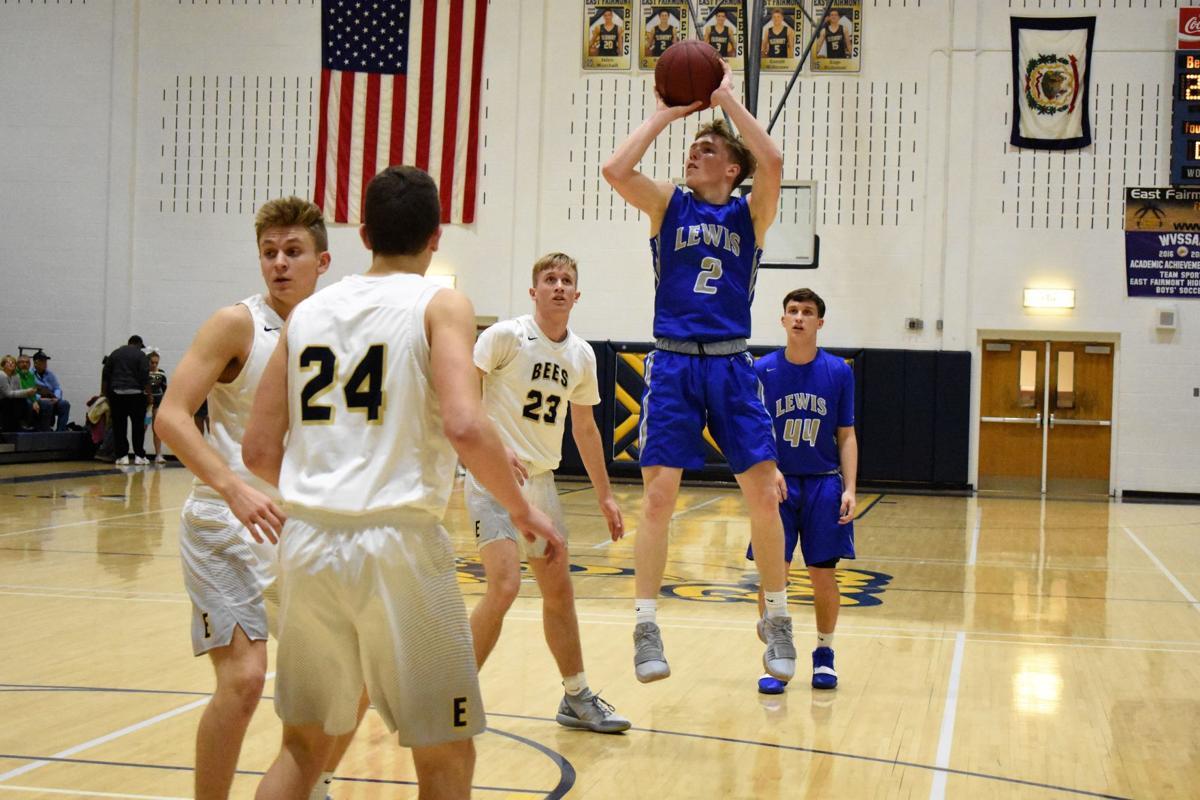 Moran's career night propels Lewis County past East Fairmont