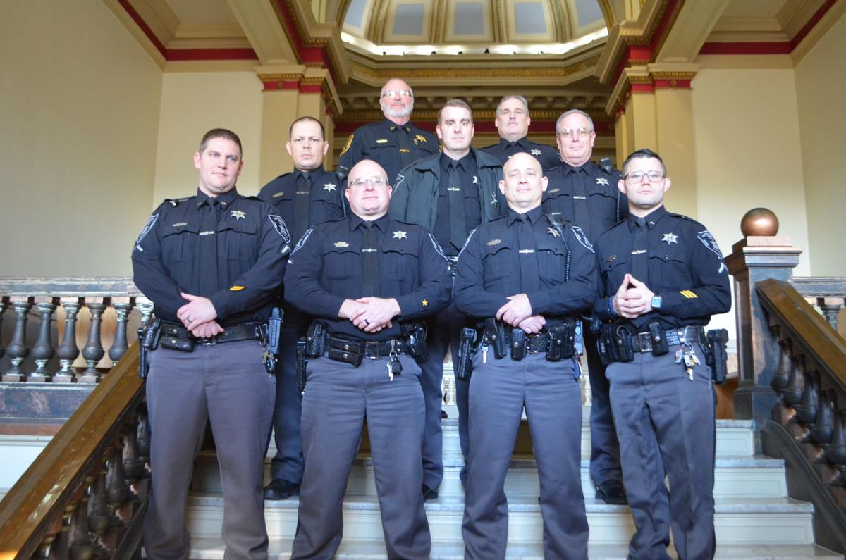 Marion Co. Sheriff's Dept. - 2020 promotions