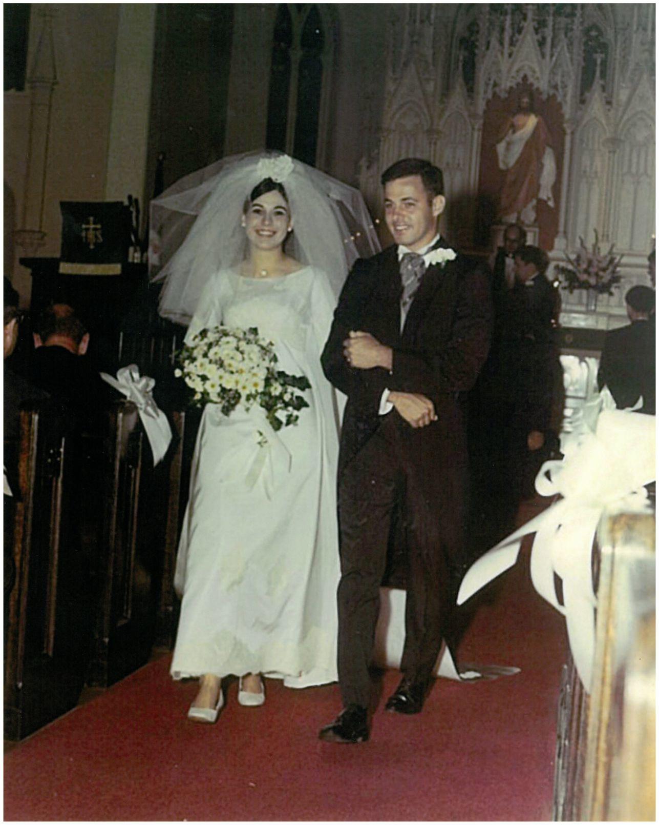 Bill Wooton at his wedding