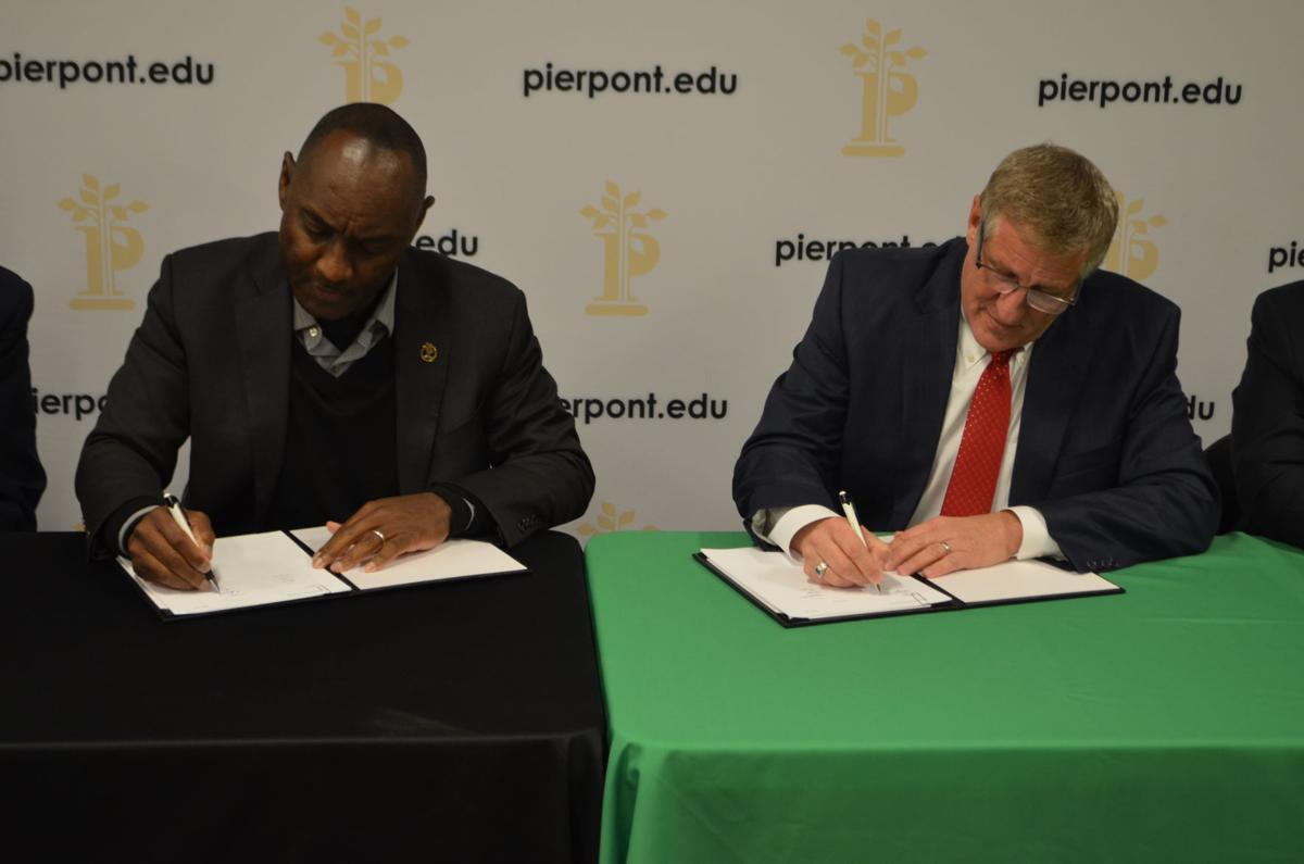 Pierpont and Salem sign agreement