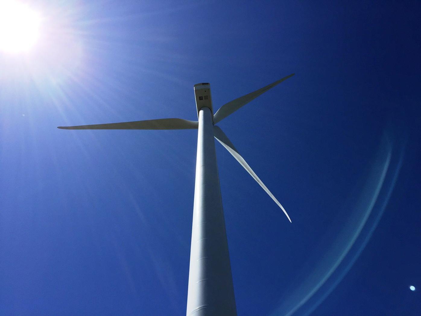 Beech Ridge turbine
