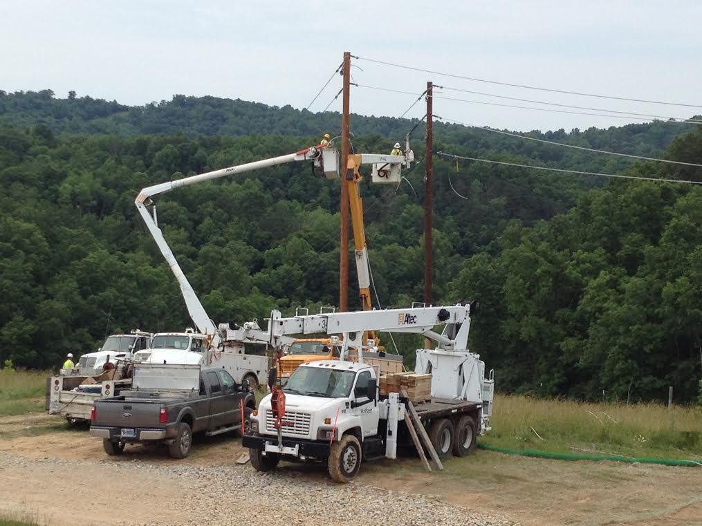 Inspecting pole