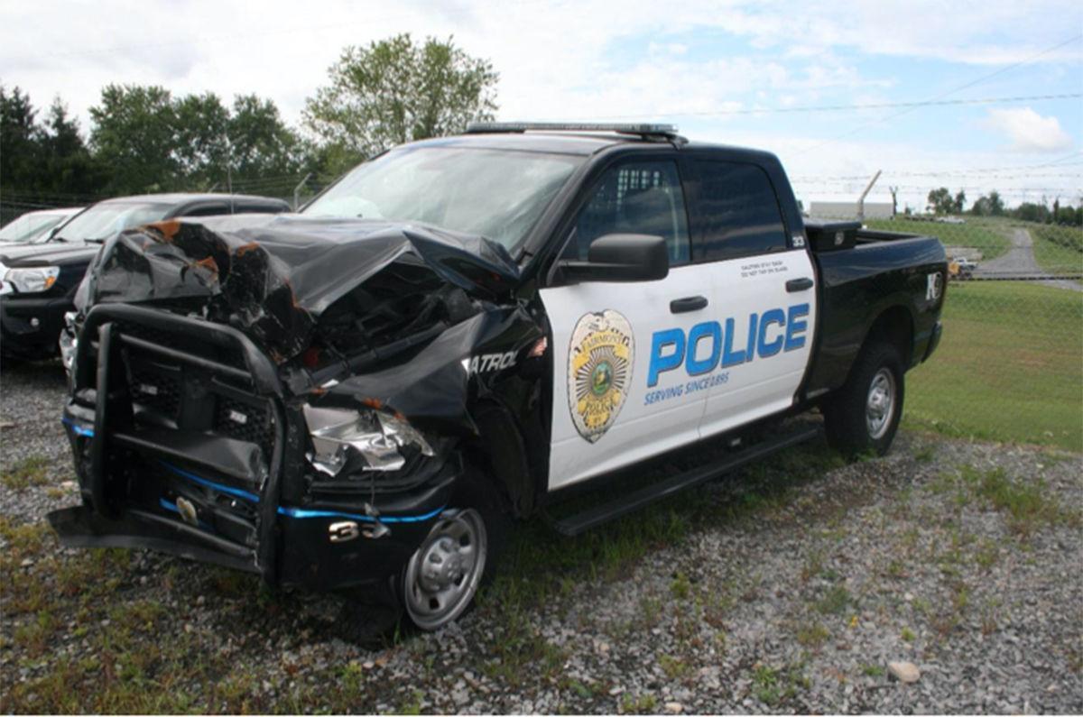 Fairmont police truck