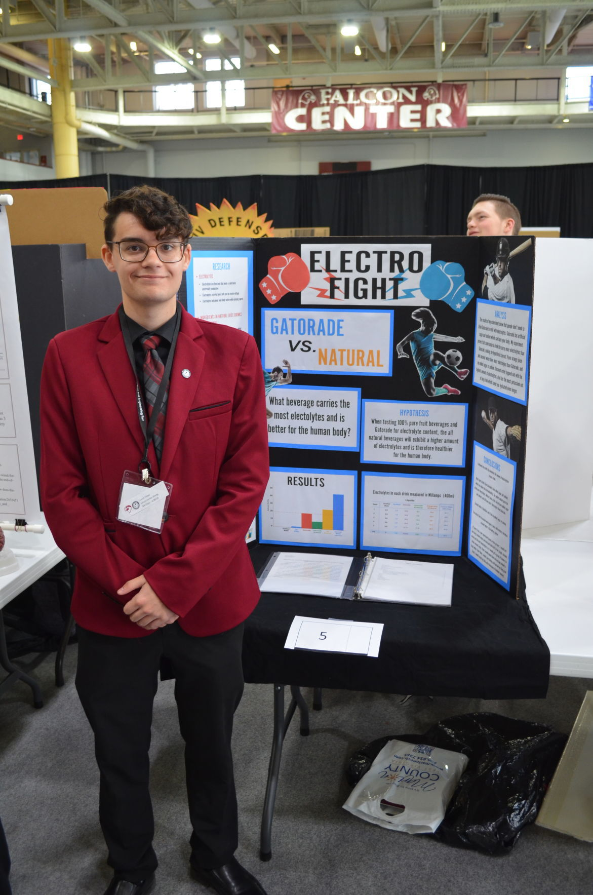 WV State Science and Engineering Fair - Sidow