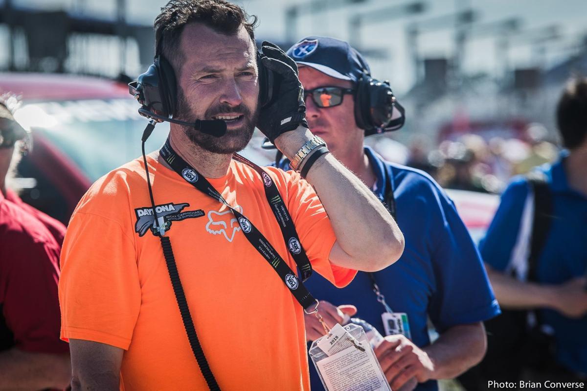 Coombs at Daytona