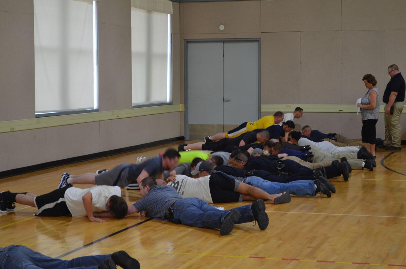 Fairmont Police - physical agility test