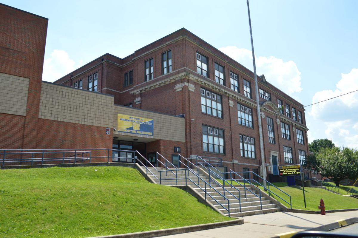 Washington Irving School Front