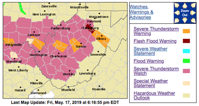 NWS Map 05-17