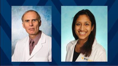 Dr. Steven Coutras and Dr. Rusha Patel