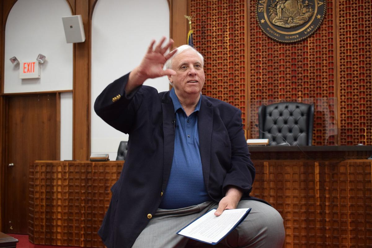 WV Governor Jim Justice visits Lewis County