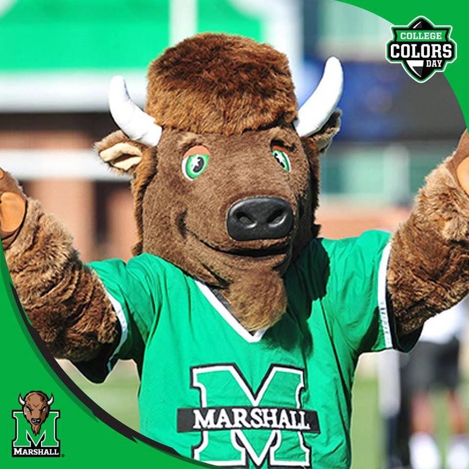 Marshall University's mascot