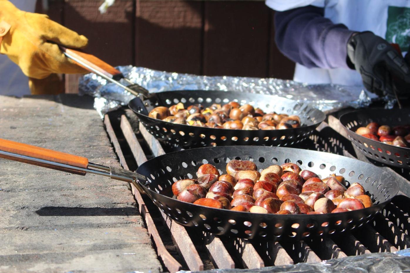 Chestnut pans