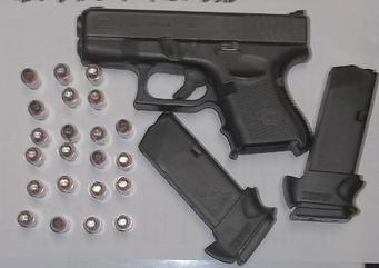 TSA gun detected at Yeager