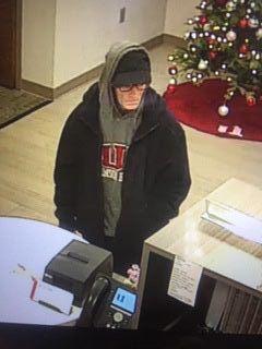 Suspected bank robber identified
