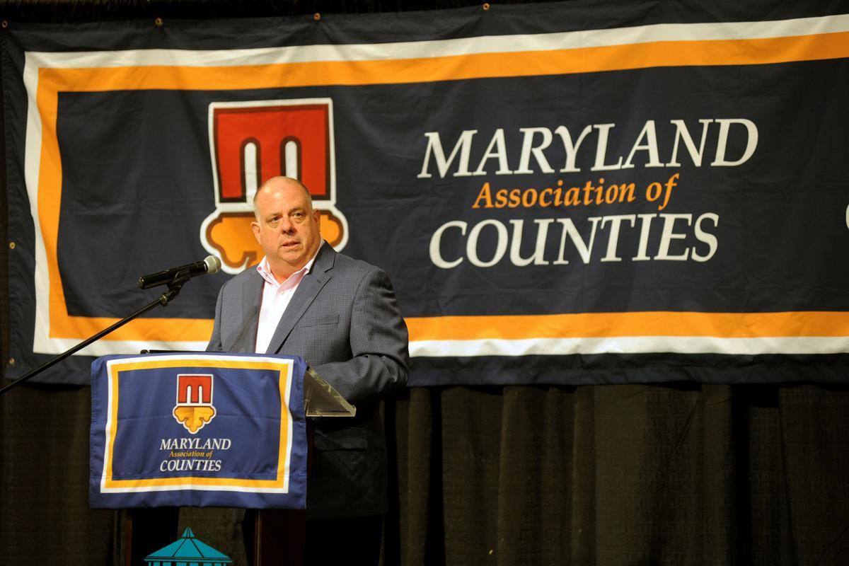 Gov. Larry Hogan at MACo Conference