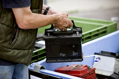 Recycling a Car Battery