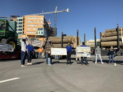 Mountain Loggers Group, Inc. donation to WVU Children's Hospital