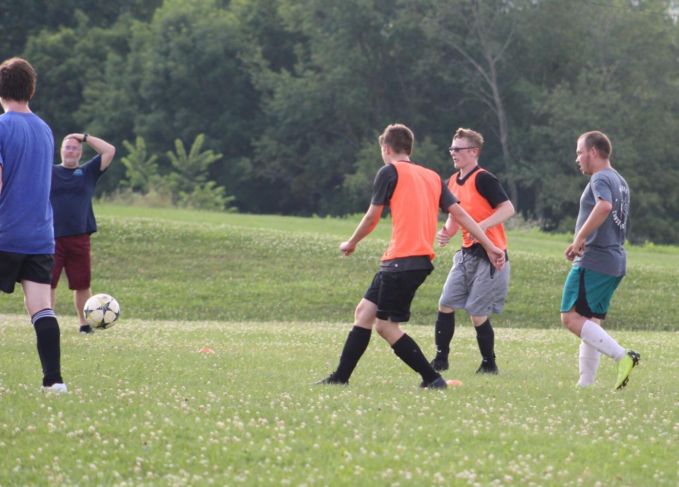 PHS Boys Soccer Workout 2