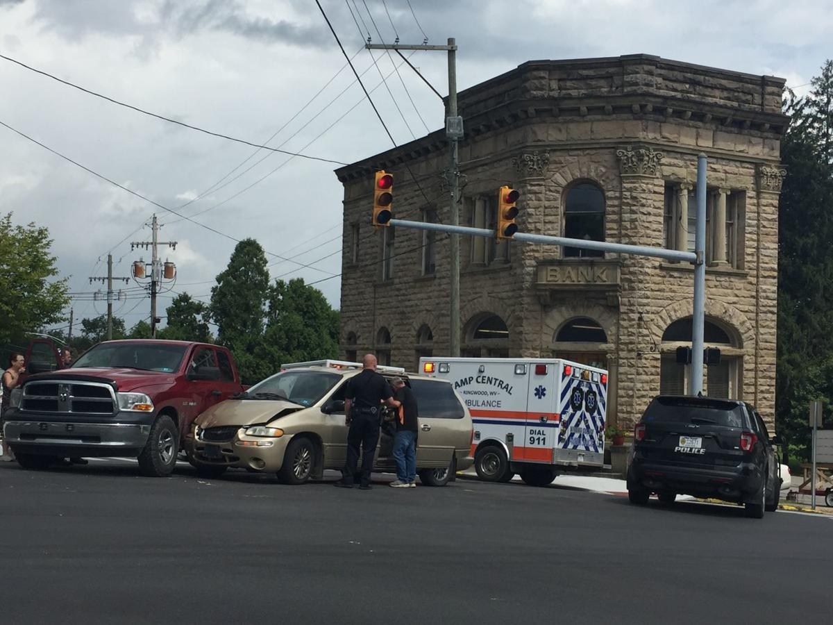 Minor injuries in Tuesday accident