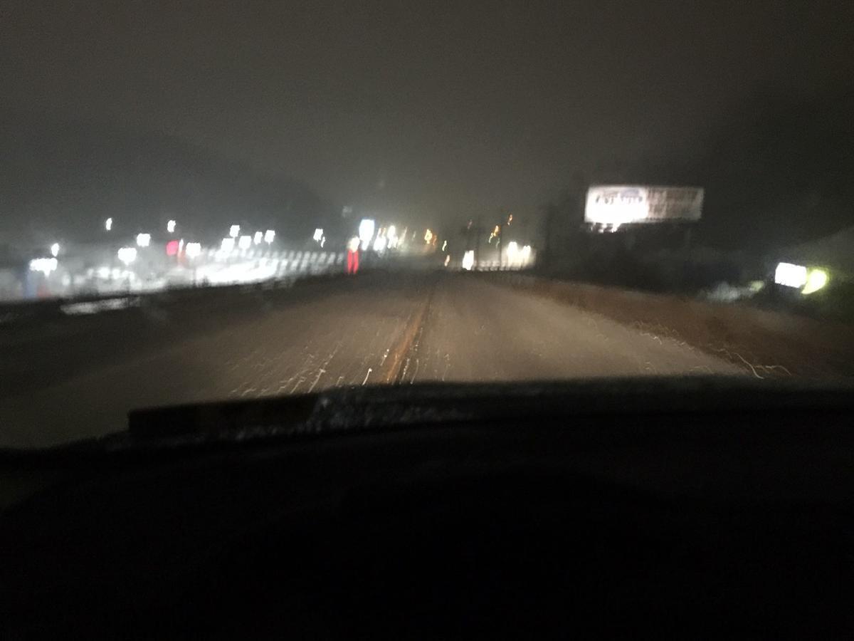 Snow begins to affect NCWV roadways