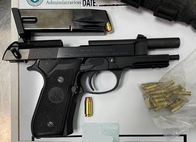 Loaded firearm Barbour Co.