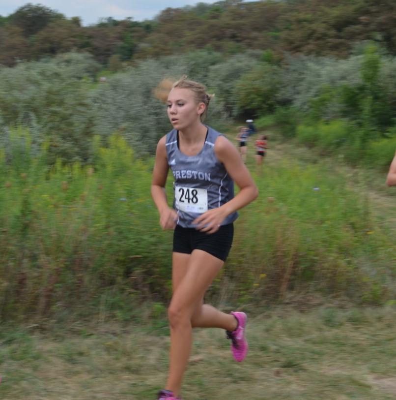 Alexa Gorondy races at University