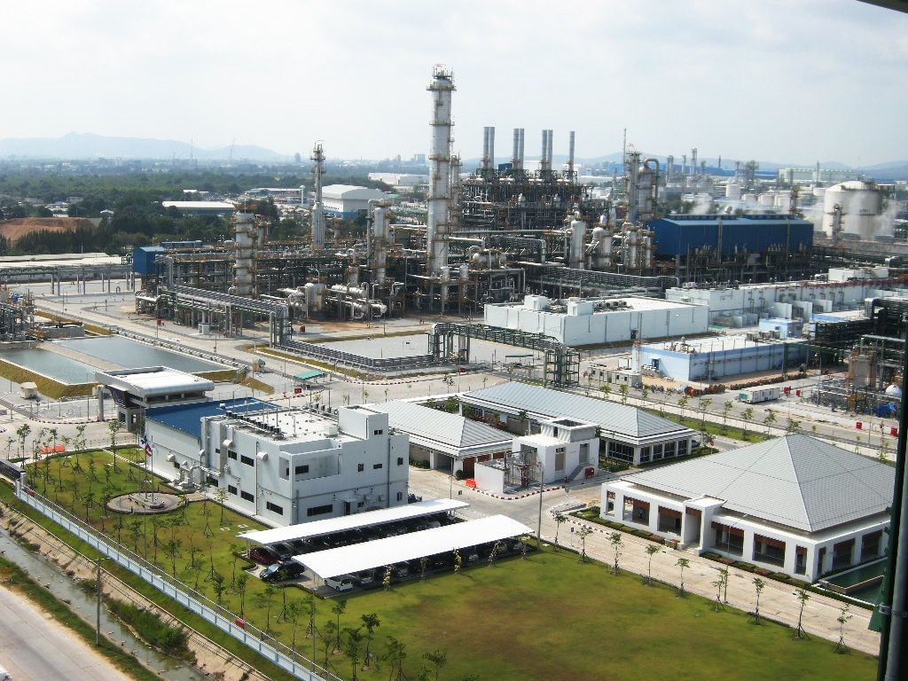PTT Global plant in Thailand