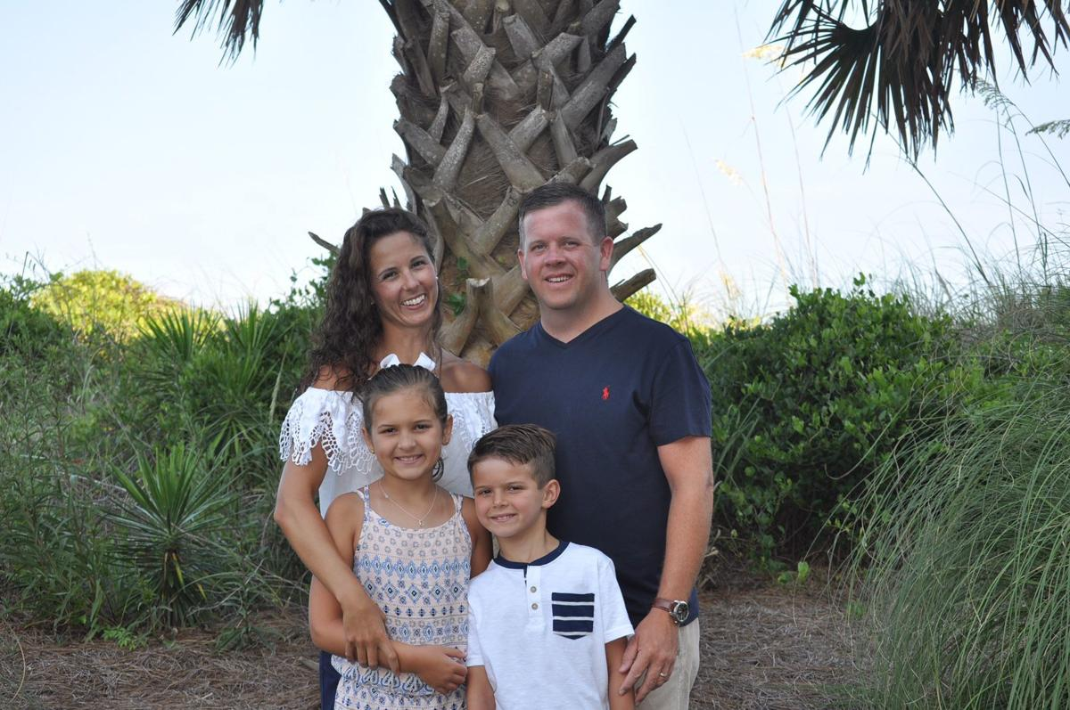 Ben Randolph and family