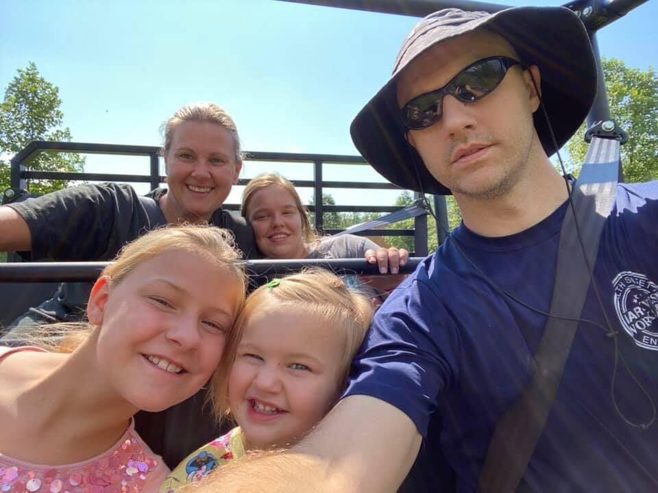 Randolph family photo