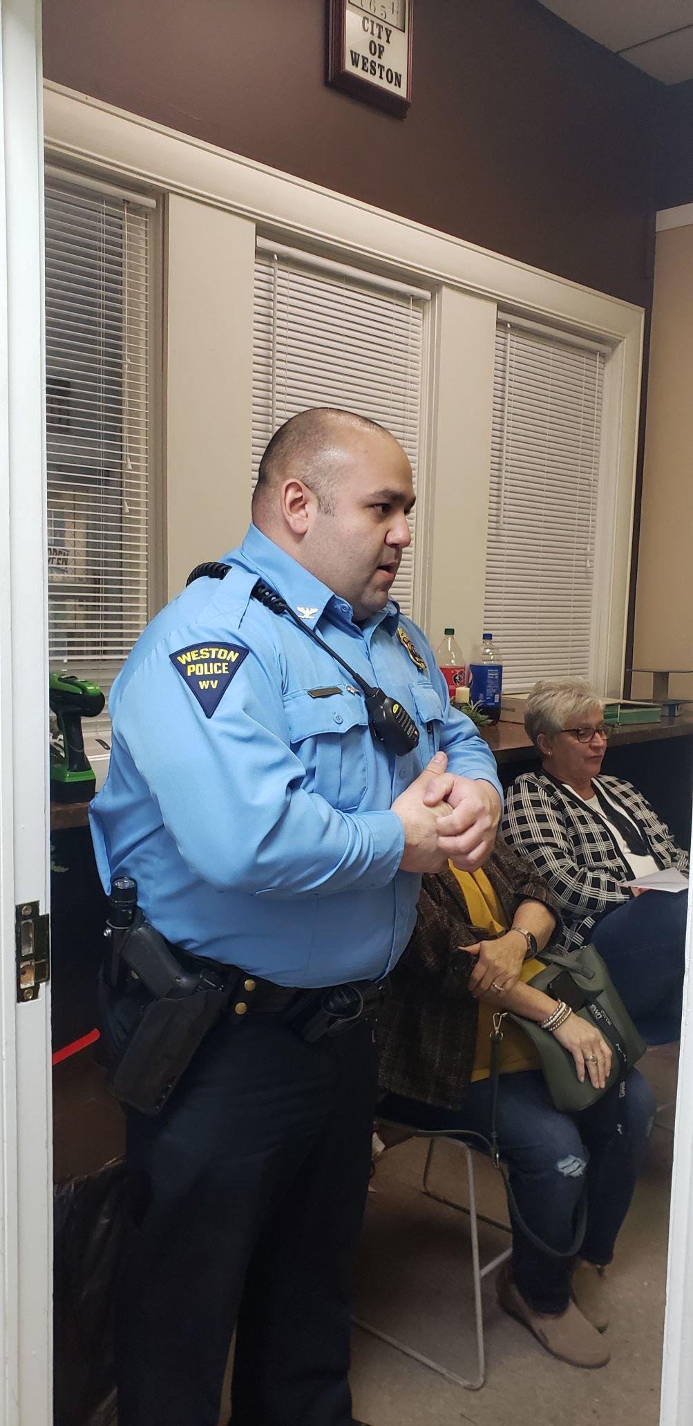 Weston Police Chief Thomas