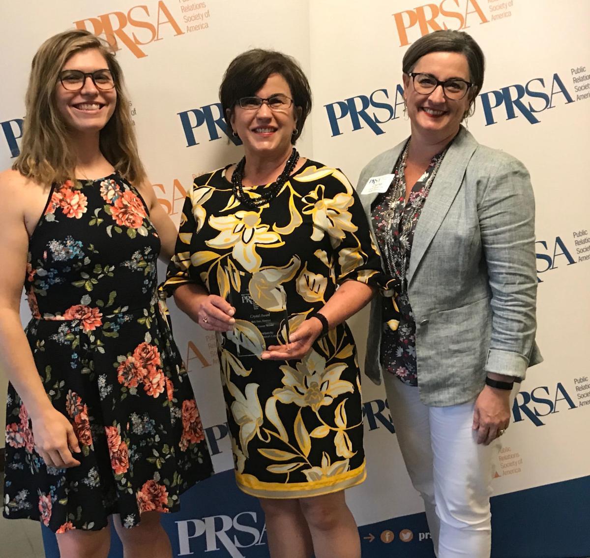 Marion County CVB - PRSA-WV 2019 award