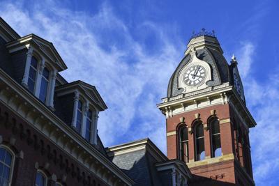 Woodburn Clock Tower, WVU campus