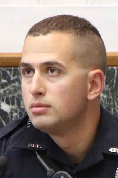 Bridgeport Patrol Officer Aaron Lantz