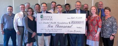 Steptoe & Johnson donates to UHC Pro-Am