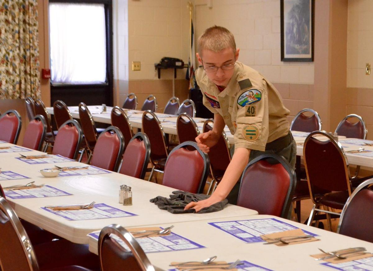 Boy Scout Troop 40's Chili Feed provides funding for events