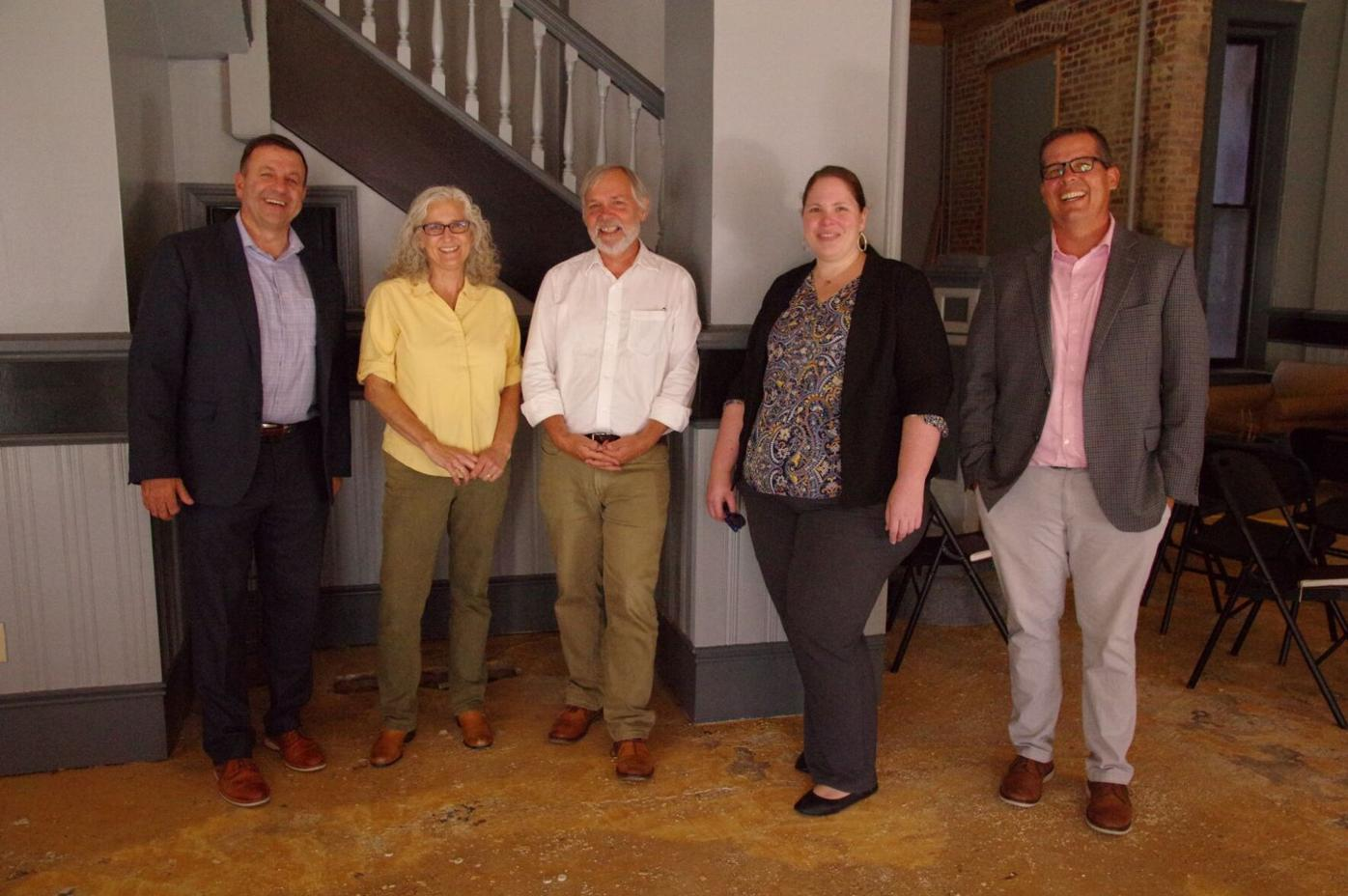 Woodlands and Taylor Hospitality leadership teams