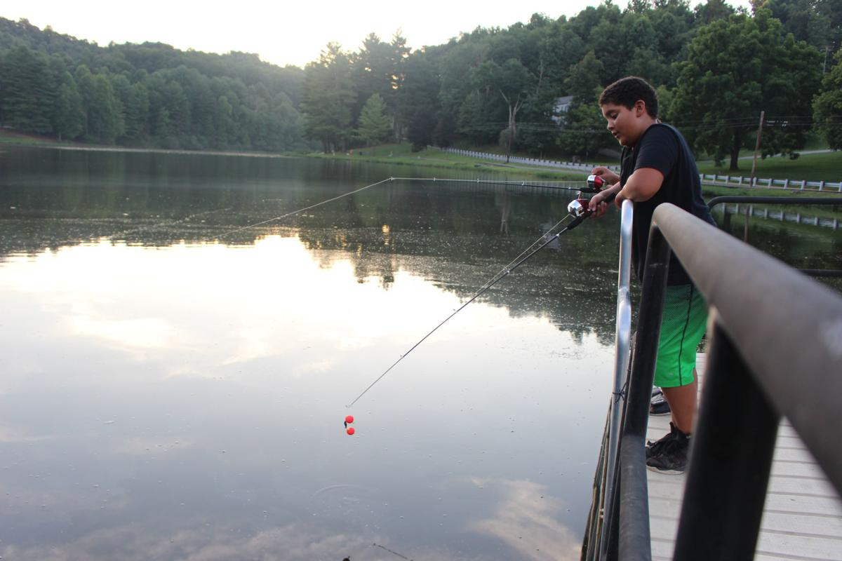 Jachob Bailey at Deegan Lake