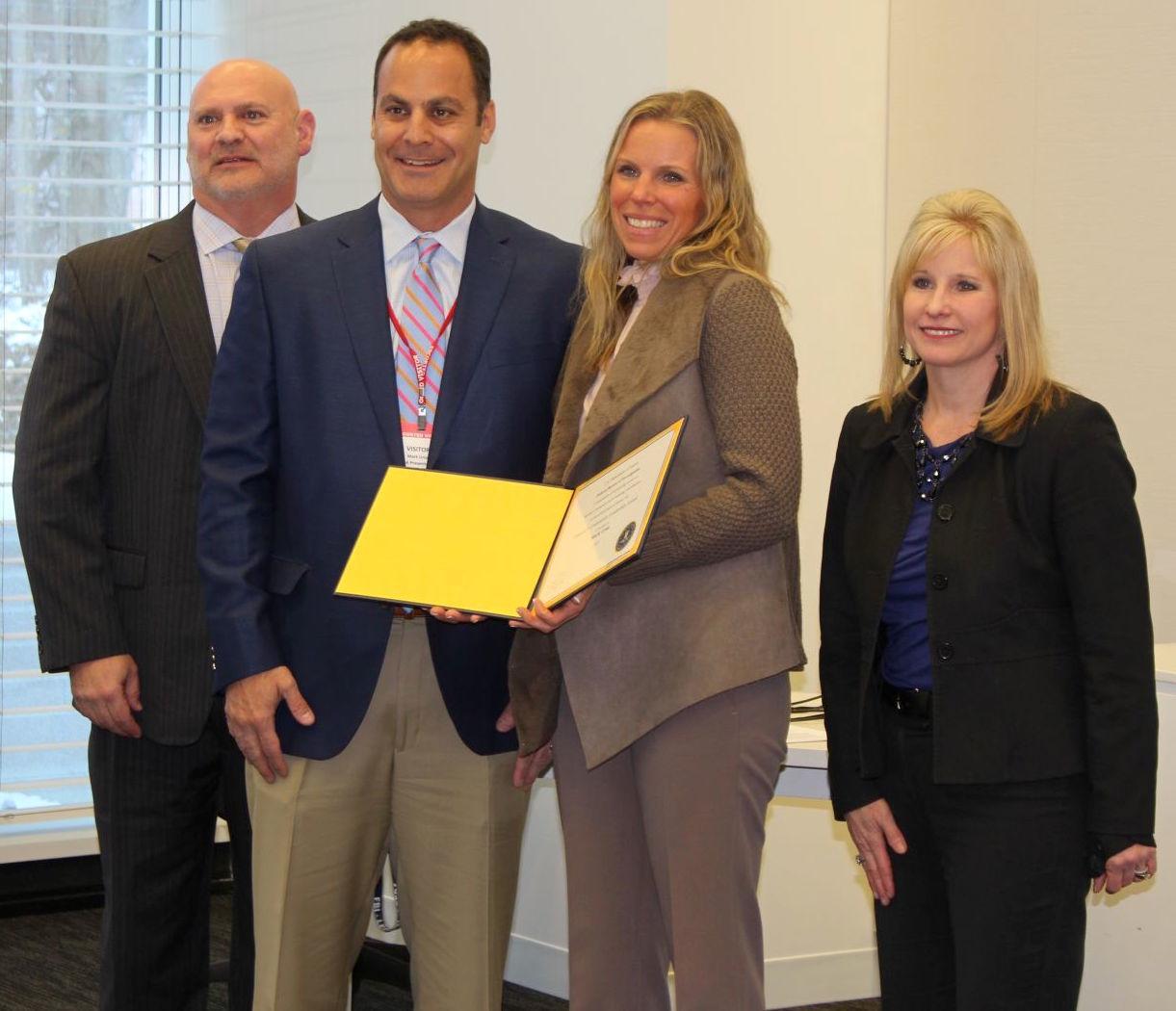 Urso received FBI Director's award