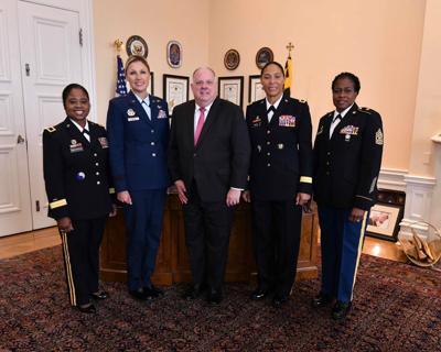 All-female command staff