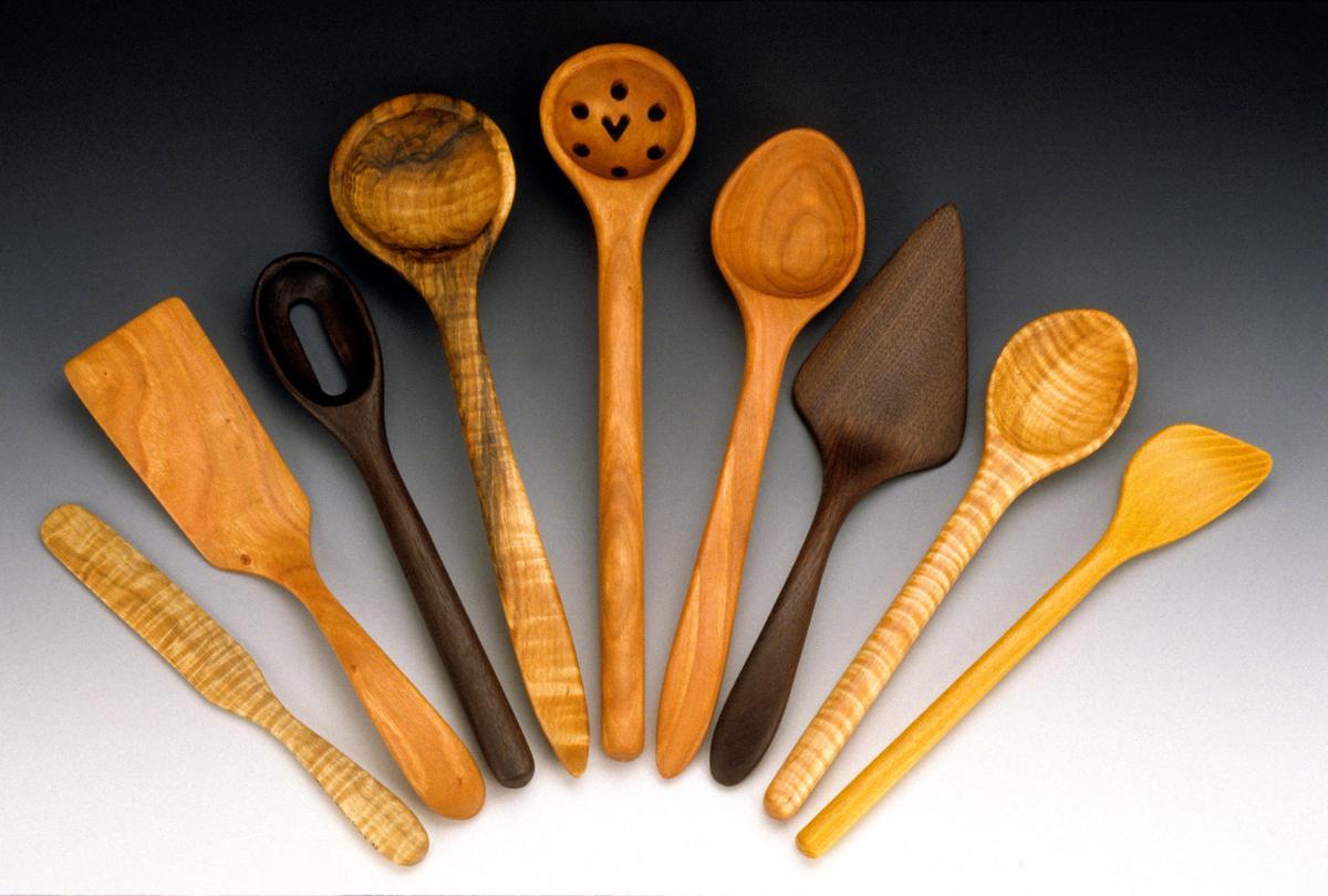 Allegheny Treenware: Creating wooden kitchen utensils