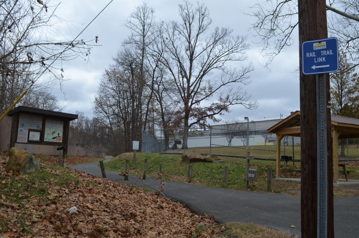 Marion Co. Rail Trail entrance