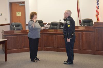 Fairmont Wv Police Department S Wolford Promoted To Lieutenant