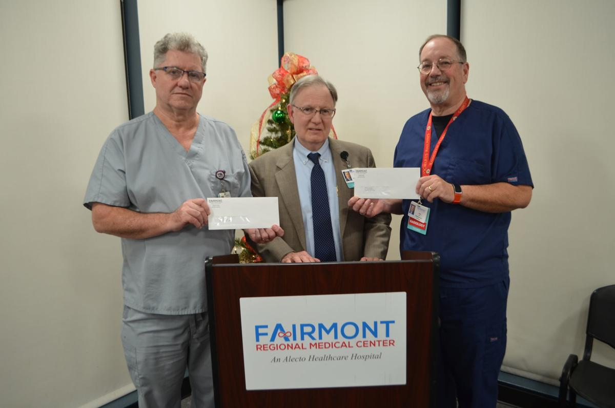 FRMC check donation